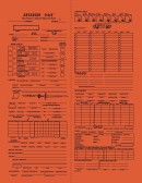 advanced dungeons and dragons character sheet 1st edition pdf